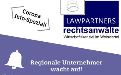 CORONA-INFO-SPEZIAL – Regionale Unternehmer wacht auf!
