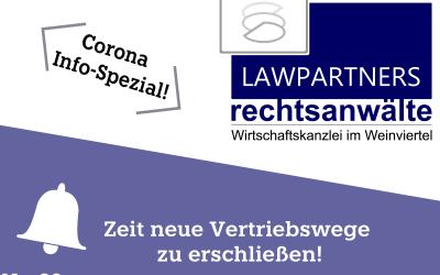 CORONA-INFO-SPEZIAL – Zeit neue Vertriebswege zu erschließen!